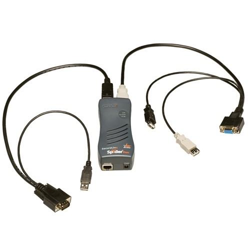 Lantronix SecureLinx SpiderDuo KVM Switch SLSLP400USB01