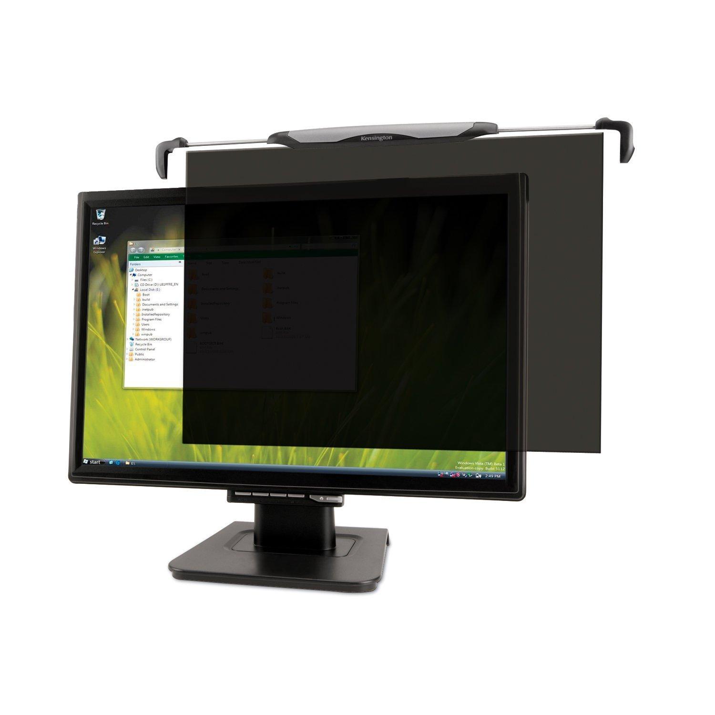 "Kensington FS220 Snap2 Privacy Screen for 20""-22"" Widescreen Monitors - Black"