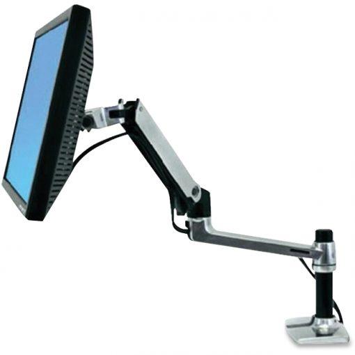 "Ergotron 45-241-026 LX Desk Mount Monitor Arm up to 32"" Screens - 25lb Capacity"