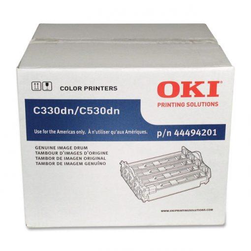 OKI 44494201 C330/C530/MC361/MC561 Image Drum Type C17 w/ Primer Toner