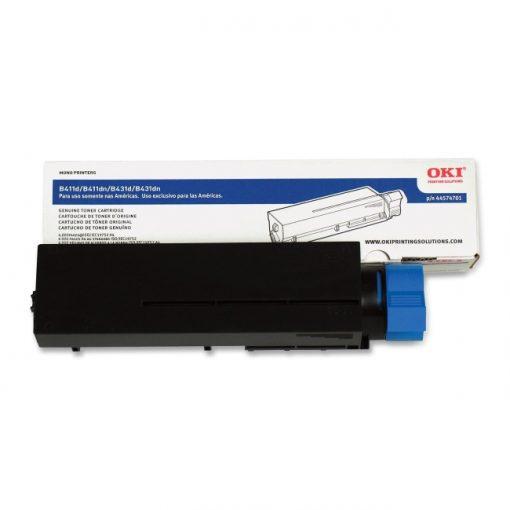 Oki Black Toner Cartridge for B411/B431 Series Printers - Black