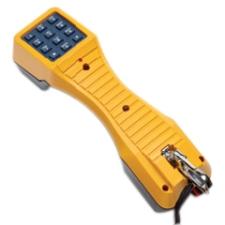 Fluke Networks TS19 Test Set with Banana Jacks to Alligator Clips