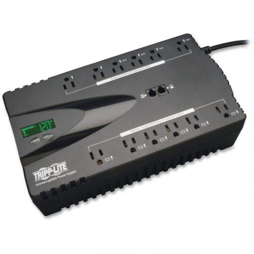 Tripp Lite ECO850LCD ECO 12-Outlet 120V/850VA/425W Standby UPS w/ USB