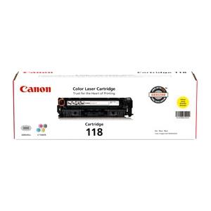 Canon CRG118 Toner Cartridge - Laser - Yellow