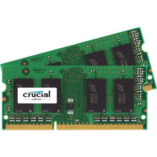 Crucial 16GB Kit (2x8GB) DDR3 PC3-12800 Unbuffered SODIMM Memory Kit
