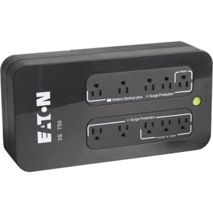 Eaton 3S 750VA / 450W Desktop Mini-Tower UPS w/ 10 Outlets
