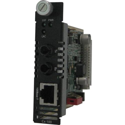 Perle C-100-S2ST20 Fast Ethernet Media Converter 05051320