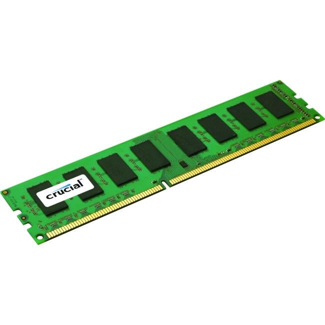 Crucial 8GB (1 x 8 GB) DDR3 SDRAM Memory Module 1600MHz 240-pin DIMM