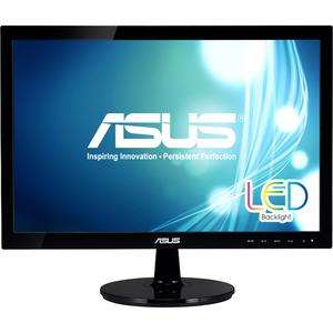 """Asus VS197T-P 18.5"""" 1366x768 LED TN 5ms Monitor"""