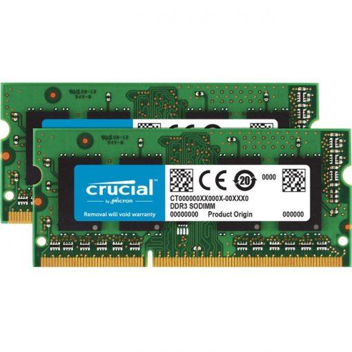 Crucial 16GB kit (8GBx2) DDR3 PC3-12800 Unbuffered NON-ECC 1.35V SODIMM for Mac