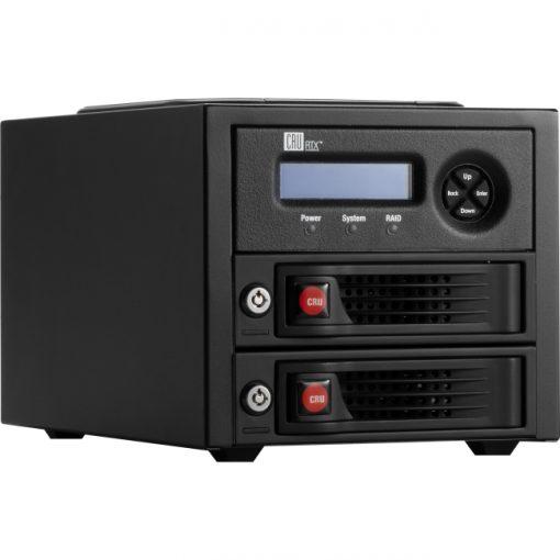 CRU DataPort RTX220-3QR Portable 2-Bay USB 3.0 RAID Enclosure