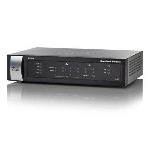Cisco RV320 Dual WAN VPN Router RV320K9NA