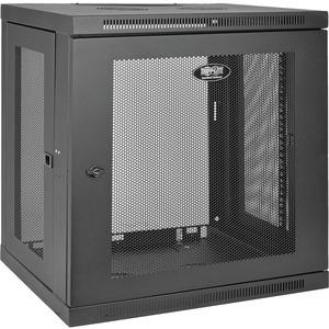 Tripp Lite SmartRack 12U Low-Profile Switch-Depth Wall-Mount Rack Enclosure