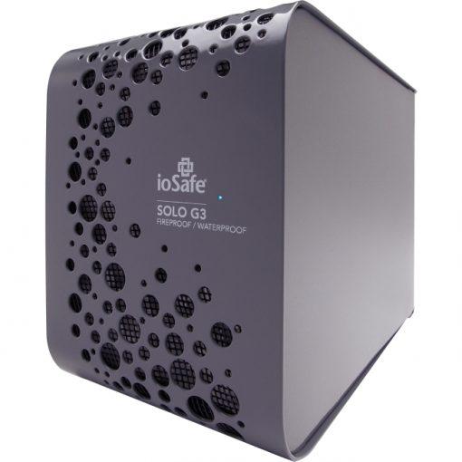 """ioSafe Solo G3 2TB 3.5"""" SATA USB 3.0 External Hard Drive Hard Drive - Gray"""