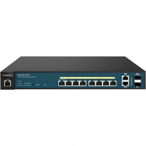 EnGenius Neutron EWS 8-Port Managed Gigabit 130W PoE+ Switch