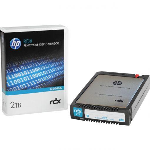 "HPE 2 TB 2.5"" RDX Technology Hard Drive Cartridge - Removable - 5400rpm"