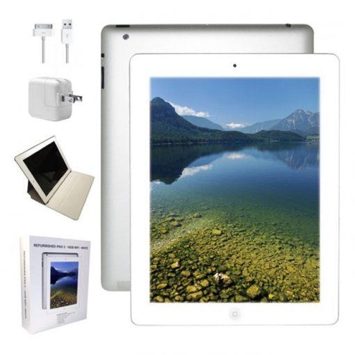 "Apple iPad 2 9.7"" Tablet 16GB iOS 8 White Refurbished"
