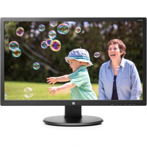 "HP 24uh 24"" FullHD 1920 x 1080 LED LCD Monitor - DVI - HDMI - VGA K5A38AA#ABA"