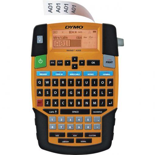 Dymo 1835374 Rhino 4200 Soft Case Industrial Labelmaker Kit