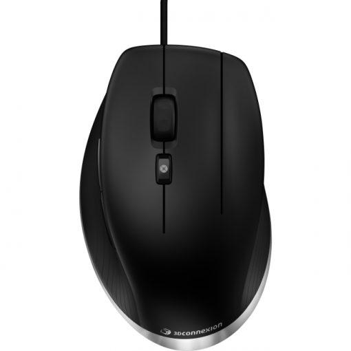 CadMouse by 3D Connexion USB Mouse for CAD Pros - Matte Black (3DX-700052)