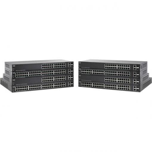 Cisco SG220-26 24-Port Gigabit Smart Plus Switch w/ 2 Combo Ports