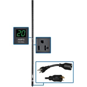 Tripp Lite PDU Metered 120V 20A 5-15/20R 36 Outlet L5-20P PDUMV2072