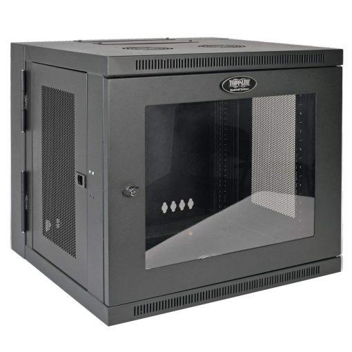 Tripp Lite SmartRack 10U Switch-Depth Rack Enclosure Cabinet with Clear Window