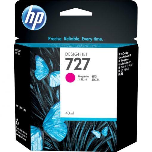 HP 727 Original Ink Cartridge Inkjet Magenta F9J77A
