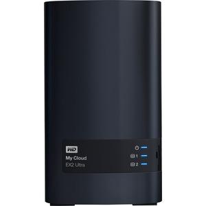 WD My Cloud EX2 Ultra 2-Bay Personal Cloud Storage Server (Diskless) w/ 1GB RAM