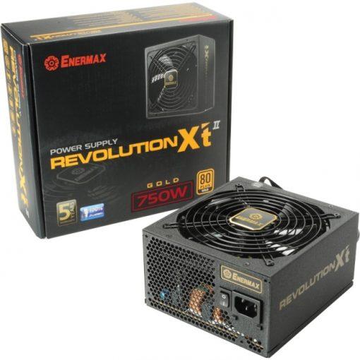 Enermax Revolution-Xt II ERX750AWT 750W 80Plus Gold Certified Power Supply