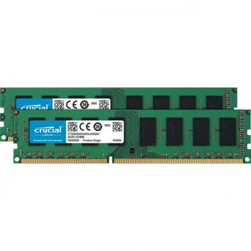 Crucial 16GB Kit (2 x 8GB) DDR3L-1600 Unbuffered Non-ECC UDIMM Memory