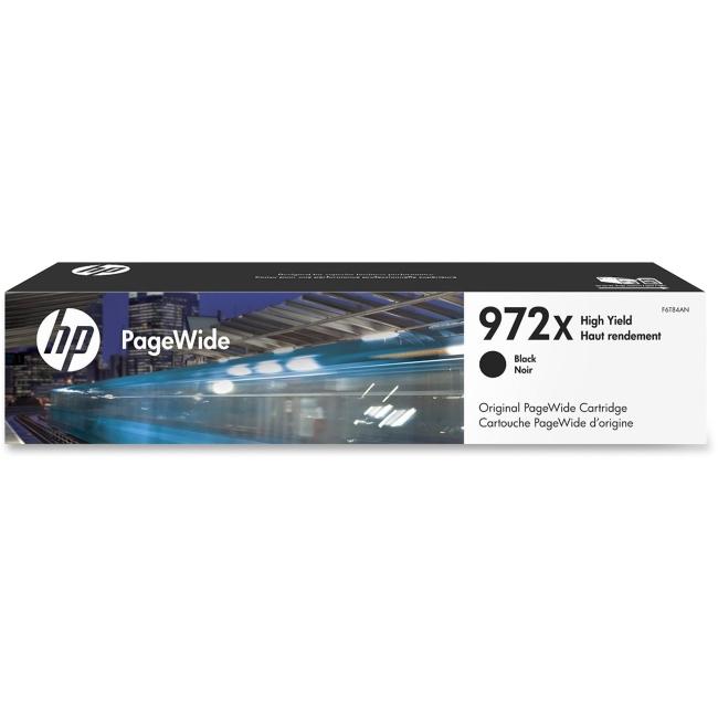 HP 972X High Yield Black Original PageWide Cartridge F6T84AN