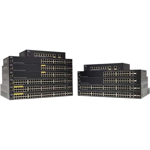 Cisco SG350-10P 10-Port Gigabit PoE Managed Switch SG350-10P-K9-NA
