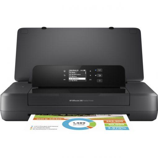 HP Officejet 200 Inkjet Color Mobile Printer