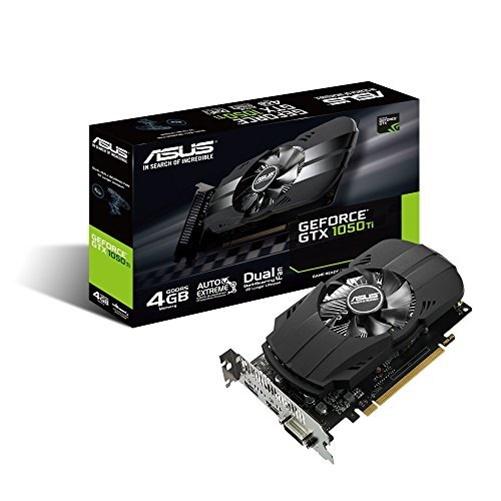 Asus Phoenix PH-GTX1050TI-4G GeForce GTX 1050 TI 4GB GDDR5 PCIe 3.0 Graphic Card