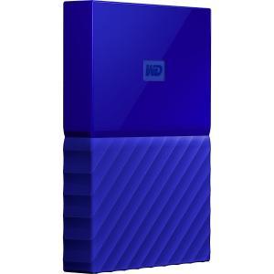 WD My Passport WDBYFT0040BBL-WESN 4TB USB 3.0 External Hard Drive - Blue