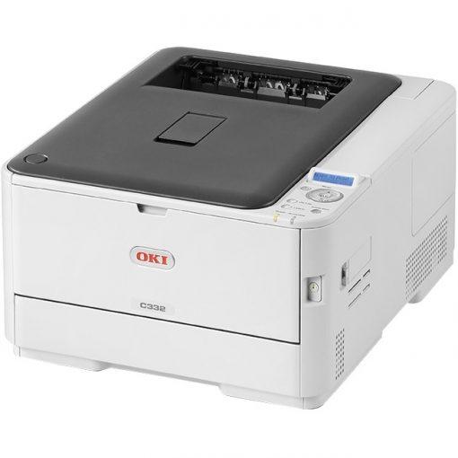 Okidata C332DN HD Color LED Printer with Duplex Printing