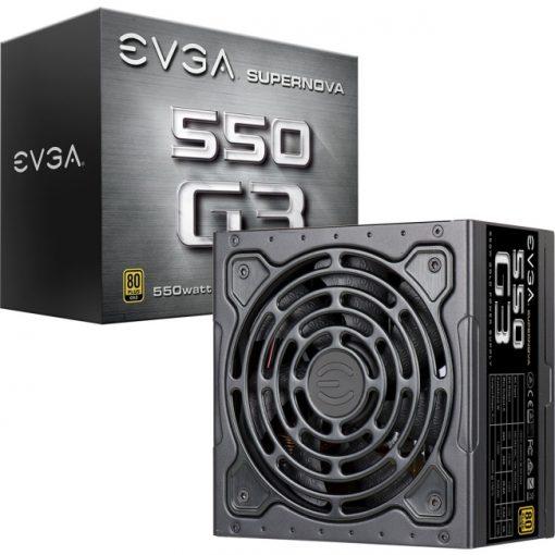 EVGA SuperNOVA 550 G3 80Plus Gold Certified Fully Modular Power Supply
