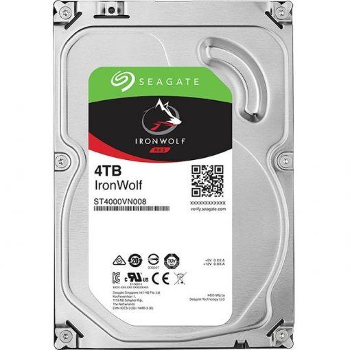 "Seagate ST4000VN008 IronWolf 4TB SATA 3.5"" Internal Hard Drive"