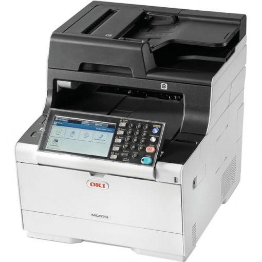 Okidata MC573DN Compact Color Multifunction Printer with Duplex Printing