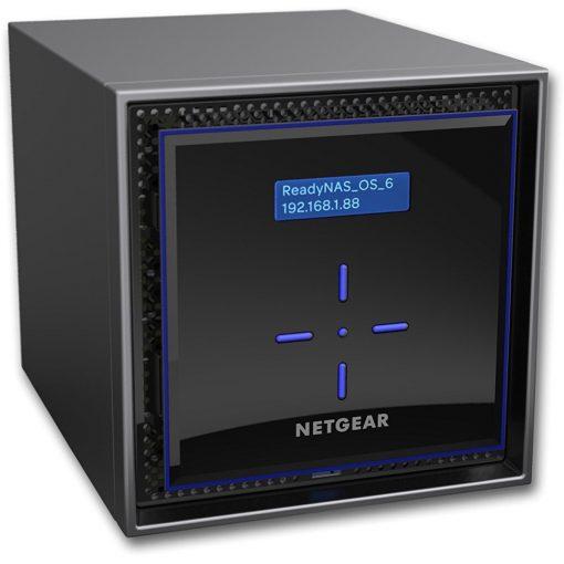 NETGEAR ReadyNAS 424 High-Performance 4-Bay Diskless Business Data Storage