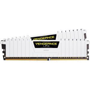 Corsair Vengeance LPX 32GB (2x16GB) DDR4 DRAM 3200MHz C16 Memory Kit - White