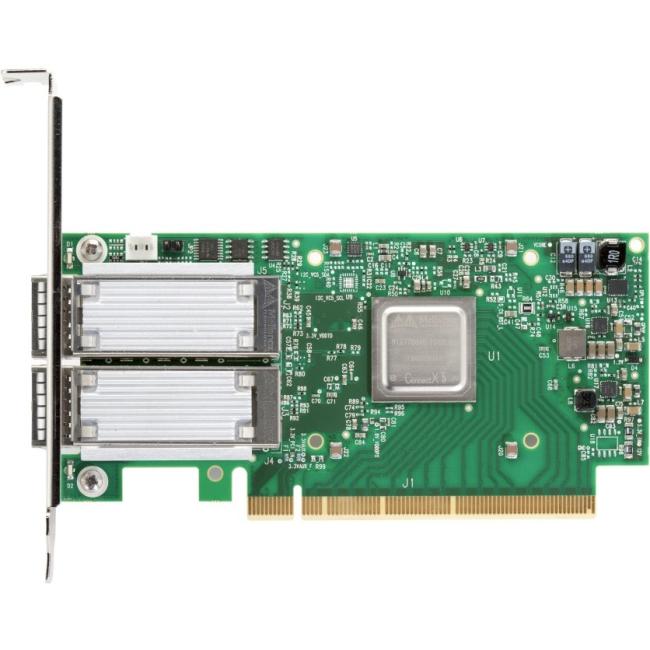 Mellanox ConnectX-5 Ex Dual-Port QSFP28 VPI Adapter Card, EDR IB and 100GbE