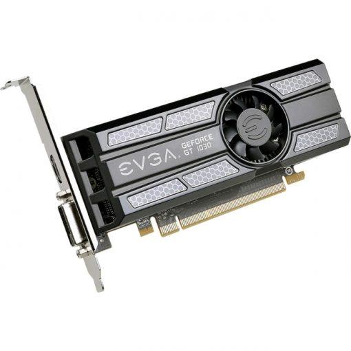 EVGA GeForce GT 1030 SC 2GB GDDR5 Low Profile Graphics Card