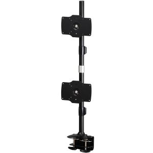 "Amer AMR2C32V Dual Monitor Clamp Vertical Mount - Max 32"" Monitors"