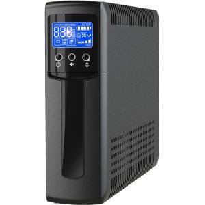 V7 UPS1TW1500-1N 1500VA 900W 10-Outlet AVR Simulated Sine Wave Output Tower UPS