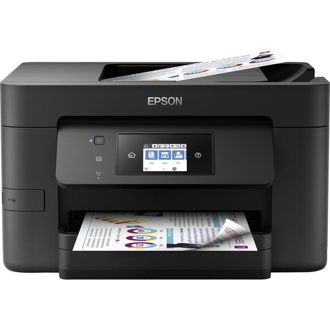 Epson WorkForce Pro WF-4720 Wireless All-in-One Color Printer, Copier, Scanner