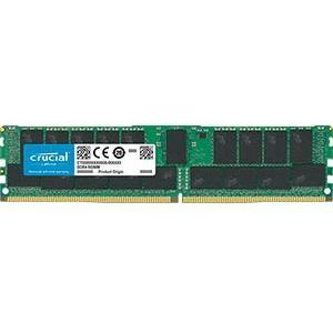 Crucial 32GB (1x32GB) DDR4 SDRAM 2666MHz 1.2V ECC Registered 288pin RDIMM Memory