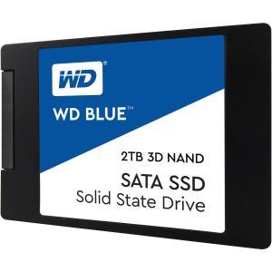 """WD Blue WDS200T2B0A 2TB 3D NAND 2.5"""" SATA Internal Solid State Drive"""