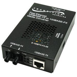 Transition Networks Stand-Alone Media Converter - 1 x RJ-45 , 1 x SC Duplex